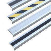 Алюминиевый профиль для краев ступеней с противоскользящей лентой