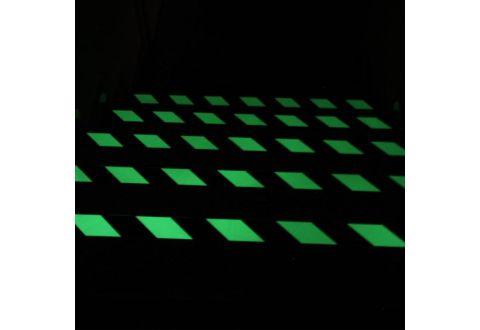 Абразивная фотолюминисцентная лента US531, желто-черная