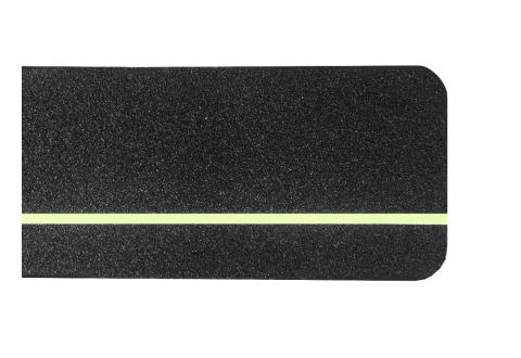 Лента-полоса противоскольжения US534, фотолюминисцентная 600*150 мм