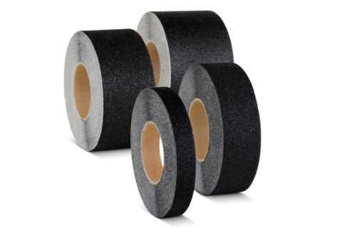 Крупнозернистая лента противоскольжения US544, черная 50 мм*18,3 м