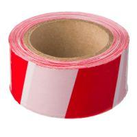 Лента оградительная красно-белая US150, Стандарт, 75mm*200m