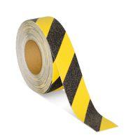 Противоскользящая лента желто-черная 50 мм*18,3м