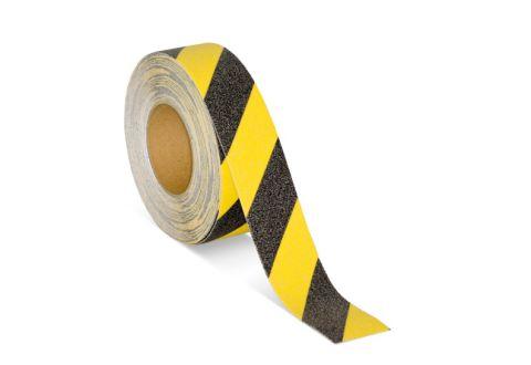 Противоскользящая лента US501 желто-черная 50 мм*18,3м