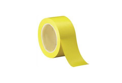 Лента ПВХ для разметки, желтая 5cm*22m