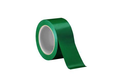 Лента ПВХ для разметки, зеленая 5cm*22m