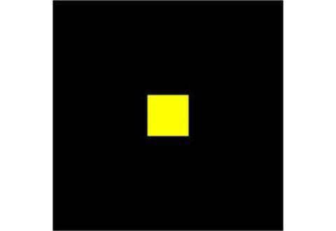 Ударопрочный пластик для разметки и маркировки, квадрат, прямоугольные края