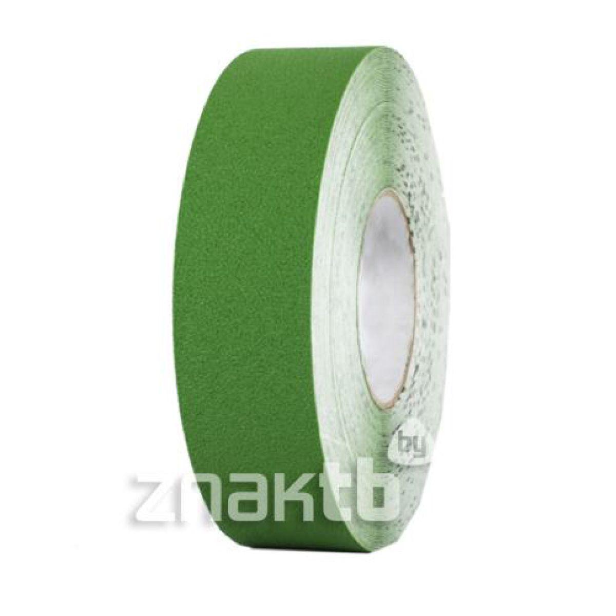 Износостойкая ПВХ лента для напольной разметки US501, зеленая 18,3 м.