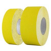 Износостойкая абразивная лента для напольной разметки US501, желтая 18,3 м.