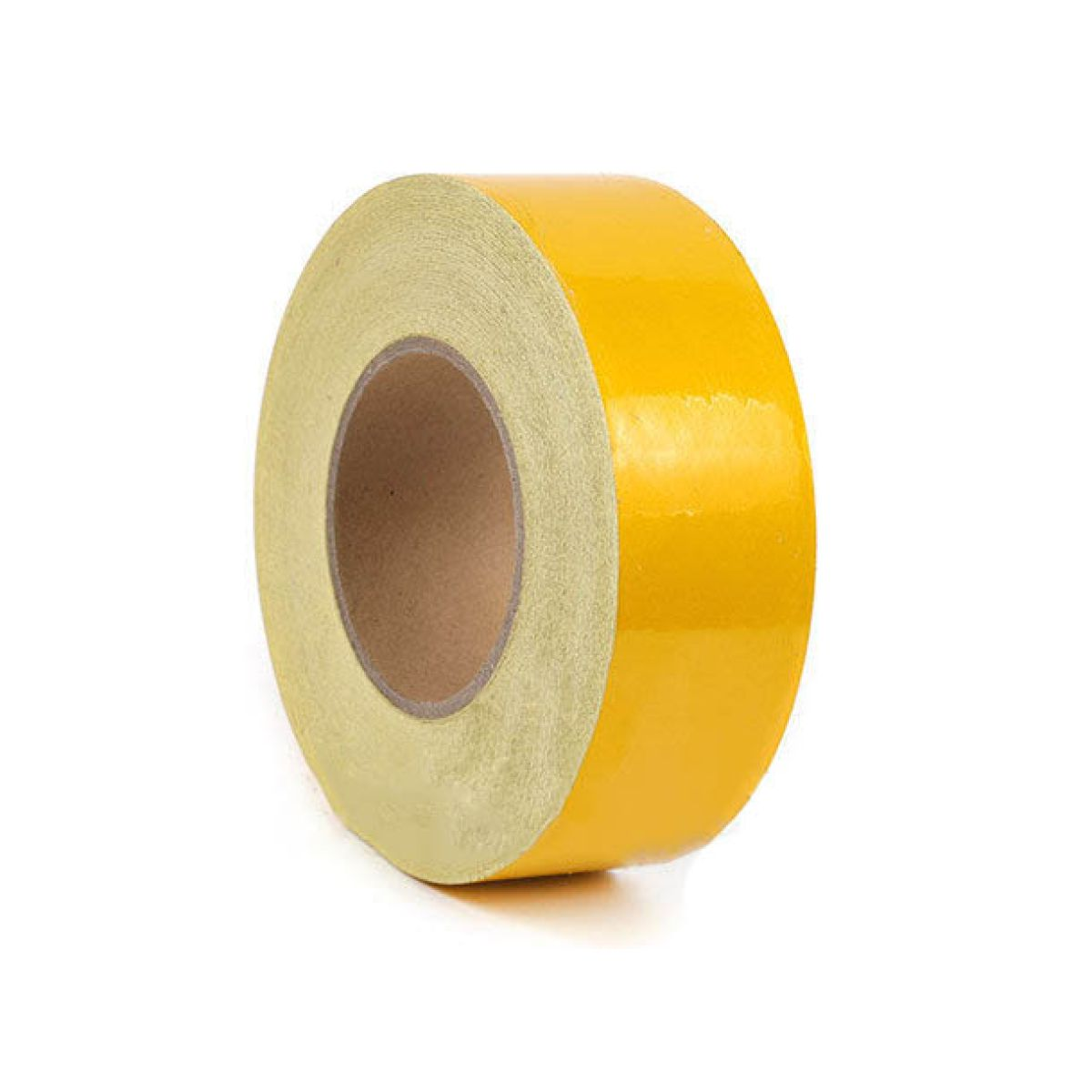 Лента светоотражающая желтая 5cm*45.7m