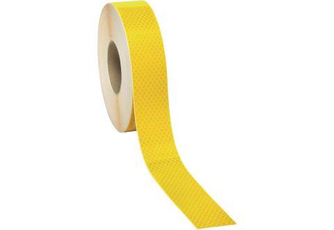 Лента светоотражающая высокоинтенсивная US440 желтая 50мм*45.7м