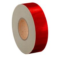Лента светоотражающая высокоинтенсивная US440 красная 50мм*45.7м