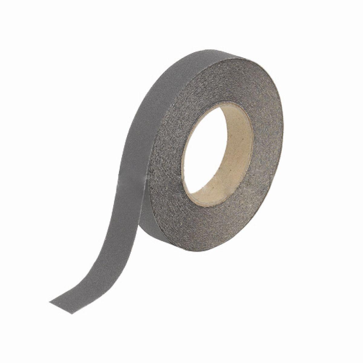 Лента противоскользящая серая 25 мм*18,3 м
