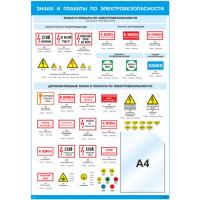 2311 Знаки и плакаты по электробезопасности (карман А4)