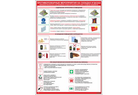 2539 Противопожарные мероприятия на складах и базах