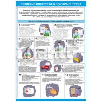 2601 Плакт по охране труда  Вводный инструктаж по охране труда