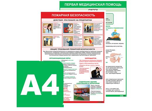 1.2 Плакаты-памятки А4