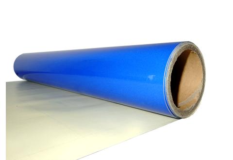 Пленка светоотражающая US420, синяя 1,24м*45,7м