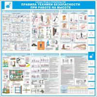 """Уголок по охране труда """"Строительство"""", 1000*1000 мм"""