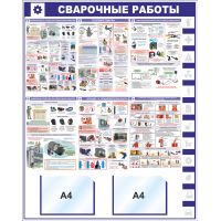 "Уголок по охране труда ""Станки"", 1000*1220 мм"