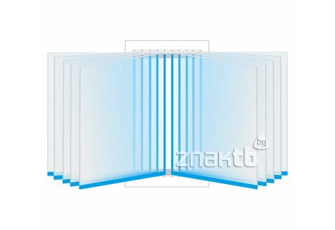 8116 Перекидная система на 10 книжных листов А4 формата