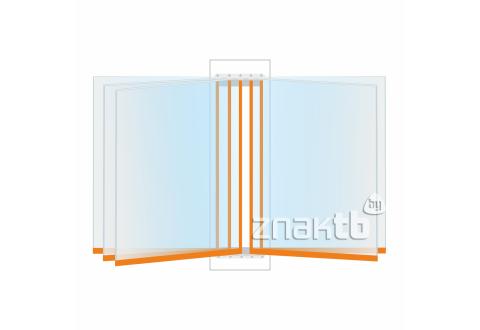 8113 Перекидная система c жёсткими листами,  5 листов А4