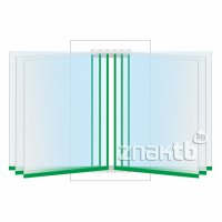 8114 Перекидная система на 6 книжных листов А4 формата