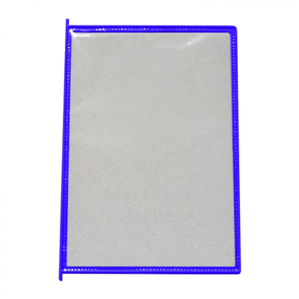 Карман для перекидной демо-системы цвет: синий