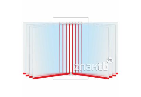 8115 Перекидная система на 8 книжных листов А4 формата