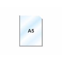 Пластиковый карман А5 вертикальный самоклеющийся, СЕРЫЙ