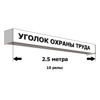 820013 Рельсовая система длиной 2,5 метра на 10 рельс