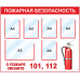 Стенд Пожарная безопасность (5 кармана А4, 1 карман А3)