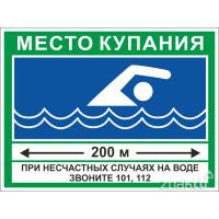 6429 Знак Место купания
