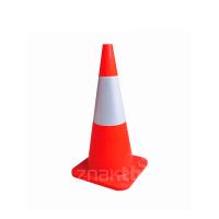 981011 Конус дорожный гибкий со светоотражающей полосой 45 см