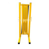 983113 Раздвижное ограждение металлическое 3 м. желто-черное