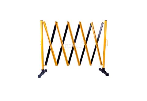 983123 Раздвижное ограждение алюминиевое 3 м. желто-черное