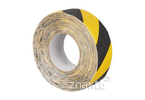 Лента противоскользящая высокой проходимости US505 черно-желтая 50 мм*18,3 м , премиум
