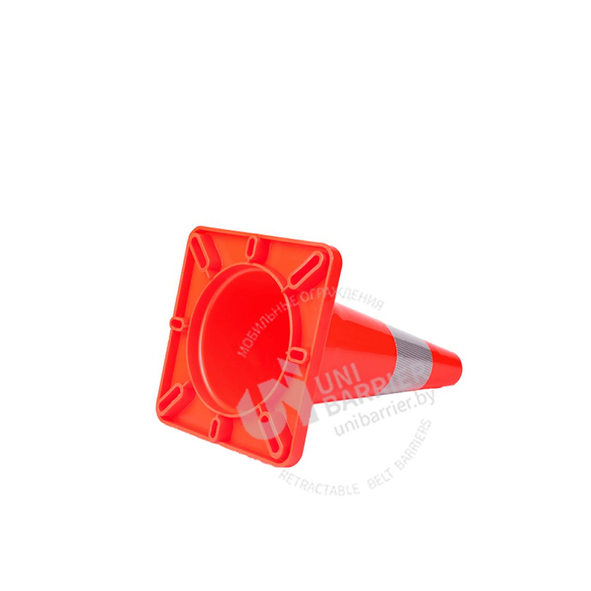 981010 Конус дорожный гибкий со светоотражающей полосой 30 см