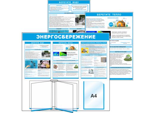 Стенды и плакаты по энергосбережению