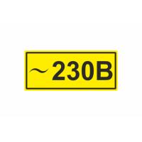222 Знак ~230 В