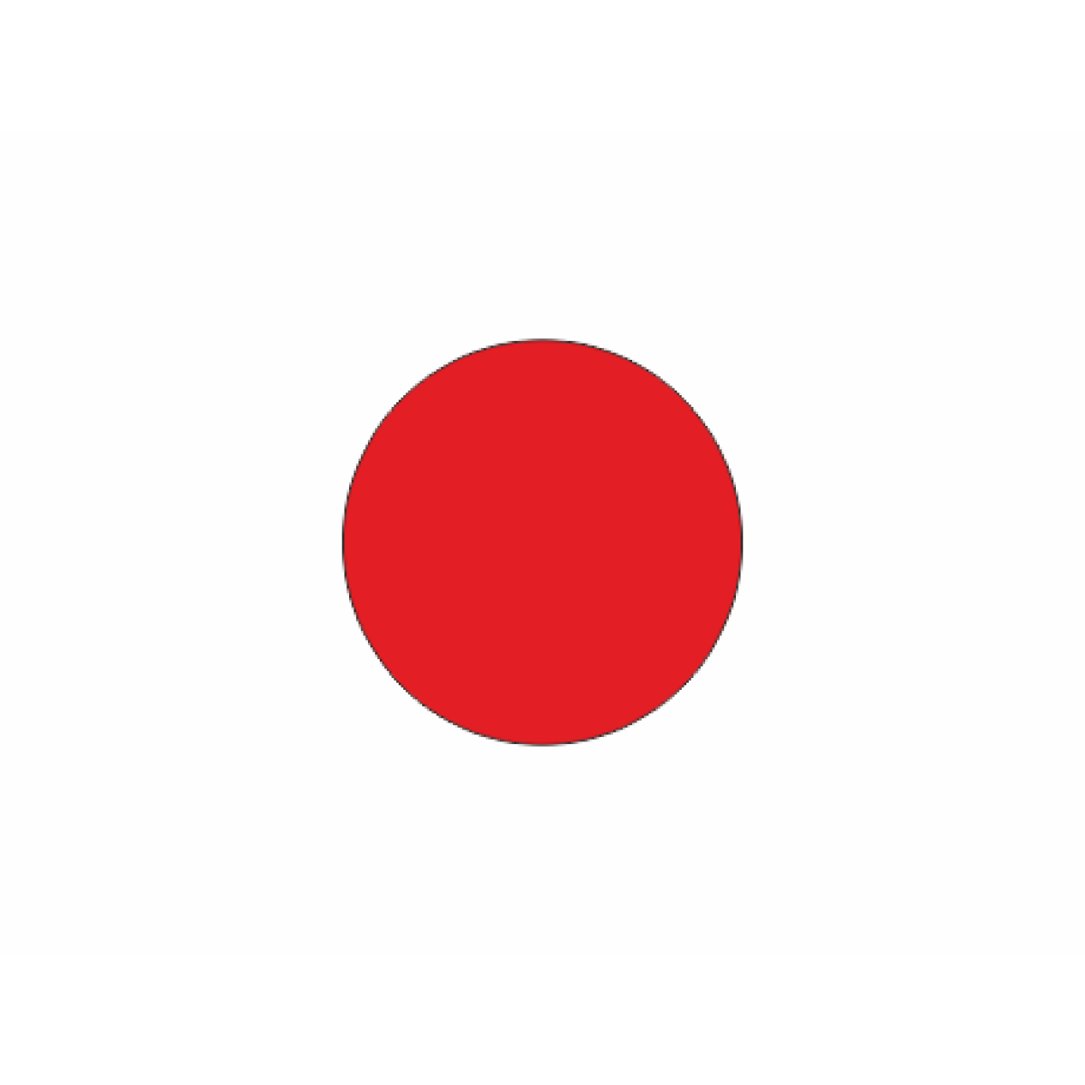Красный круг метка
