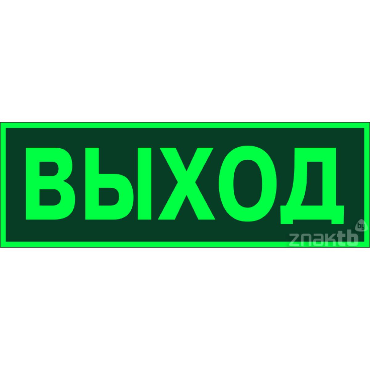 036 Знак Эвакуационный(запасный) выход фотолюм. код Е22