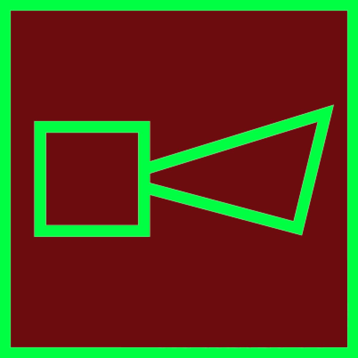 Знак Сигнально-звуковое устройство фотолюминесцентный