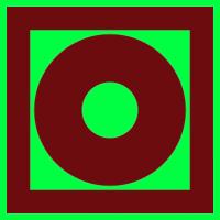 009 Знак Кнопка включения систем пожарной автоматики фотолюминесцентный  код F10