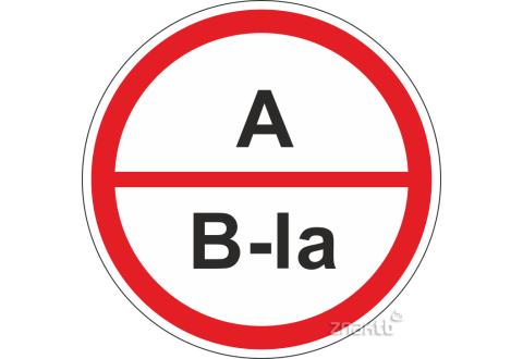301 Знак А/В1а – повышенная взрывопожароопасность.