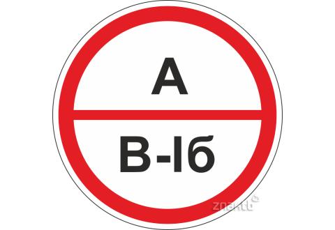 303 Знак А/В1б – повышенная взрывопожароопасность.