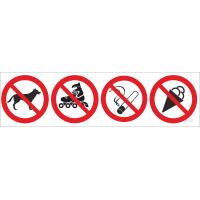 720 Знаки комбинированные запрещающие