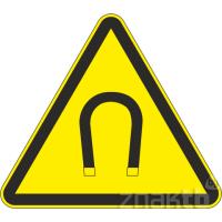 106 Знак Внимание! Магнитное поле код W13
