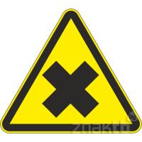 117 Знак Осторожно! Вредные для здоровья аллергические (раздражающие) вещества код W18