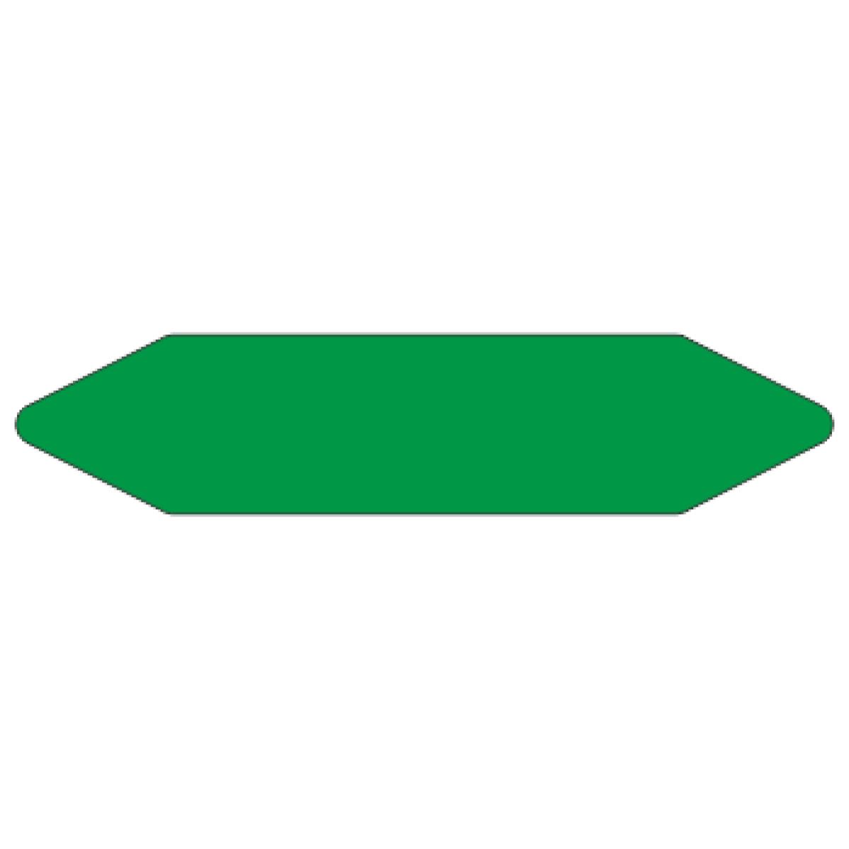 Стрелки для маркировки трубопроводов, зеленая