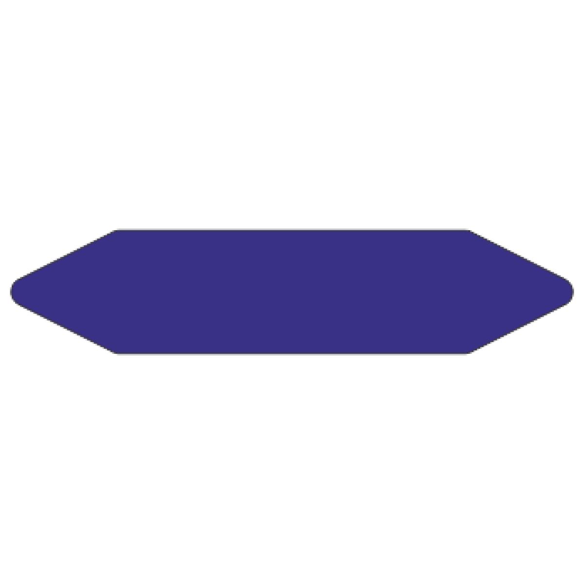 Стрелки для маркировки трубопроводов, фиолетовая